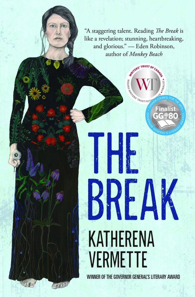 The book cover for The Break by Katherena Vermette.