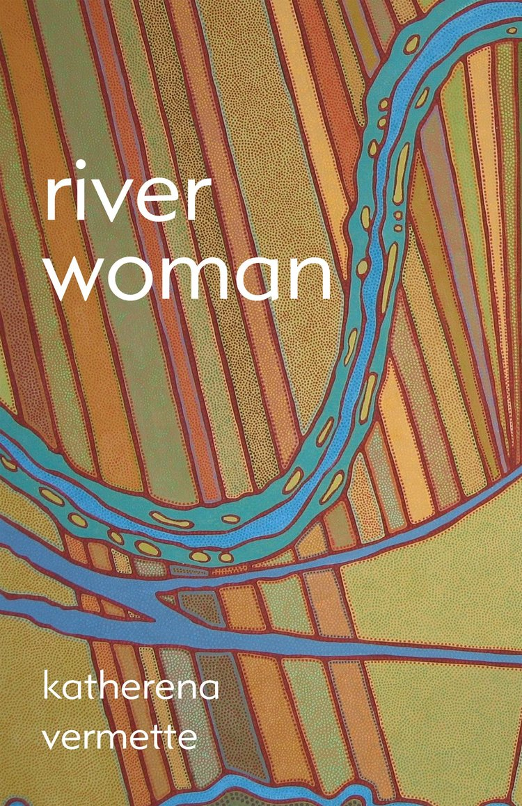 The book cover for River Woman by Katherena Vermette.